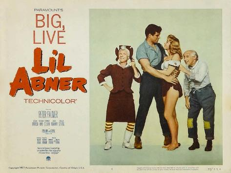 Li'l Abner, 1959 Reproduction d'art