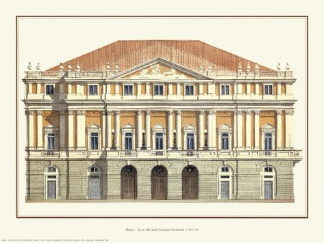 La Scala Reproduction d'art