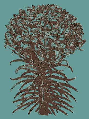 Lilies, no. 5 Reproduction d'art