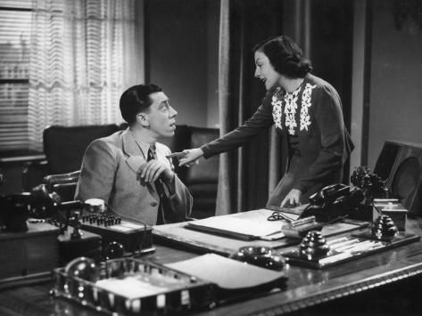 Gaby Morlay et Fernandel : Hercule, 1937 Reproduction photographique
