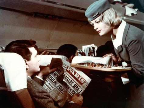 Romy Schneider et Henri Vidal : Mademoiselle Ange, 1959 Reproduction photographique