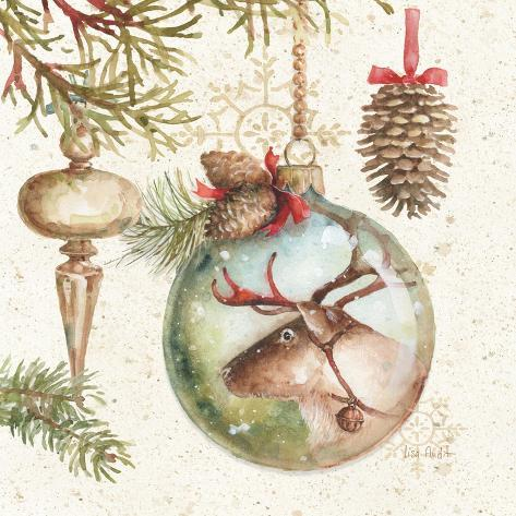 Woodland Holiday III Reproduction d'art