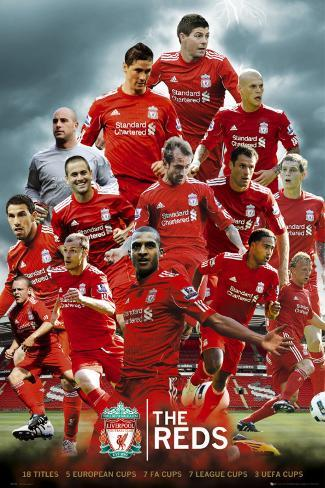 LIVERPOOL - The Reds Poster