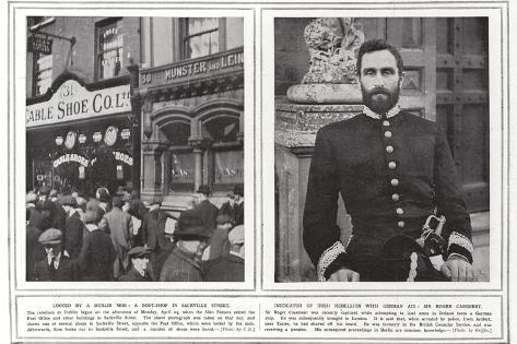 Looted by a Dublin Mob Reproduction photographique