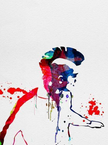 Punk Watercolor Reproduction d'art