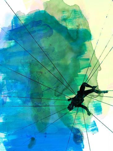 Vertigo Watercolor Reproduction d'art