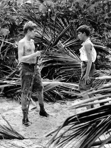 Lord Of The Flies, Tom Chapin, James Aubrey, 1963 Photographie