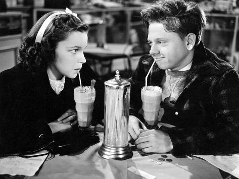 Love Finds Andy Hardy, Judy Garland, Mickey Rooney, 1938 Photographie