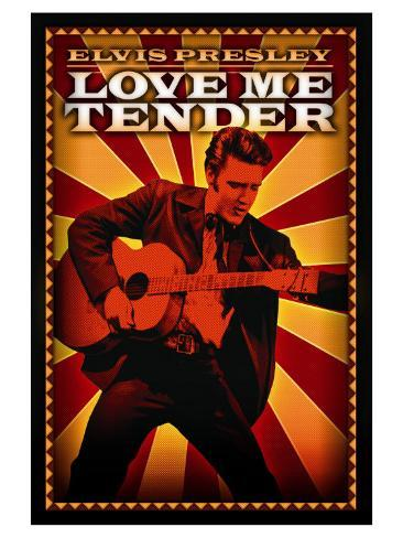 Love Me Tender, 1956 Reproduction d'art
