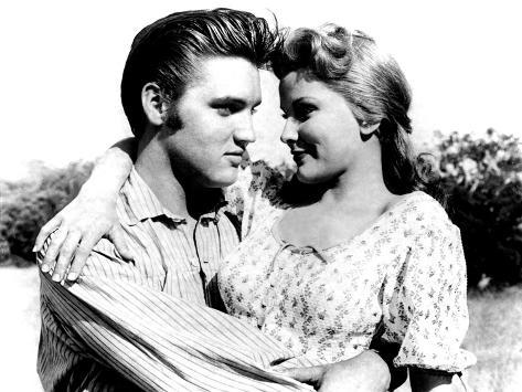 Love Me Tender, Elvis Presley, Debra Paget, 1956 Photographie
