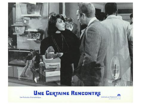 Love With the Proper Stranger, French Movie Poster, 1964 Reproduction d'art
