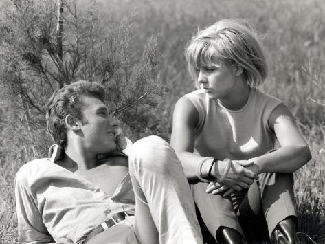 Johnny Hallyday et Sylvie Vartan, 6 Juin 1963 Reproduction photographique
