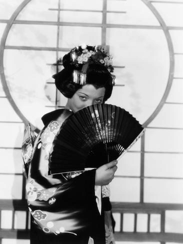 Madame Butterfly, Sylvia Sidney, 1932 Photographie