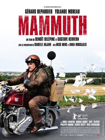Mammuth, film avec Depardieu, 2010 Poster