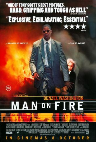 Man on Fire Poster