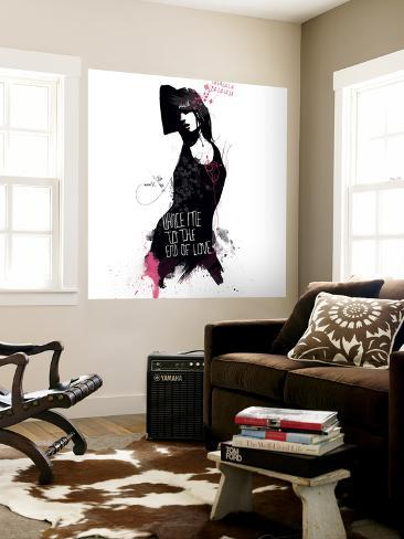 Faites-moi danser jusqu'à la fin de l'amour Poster géant