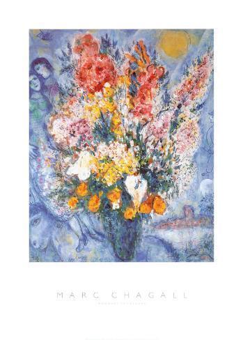 Bouquet de fleurs Reproduction d'art