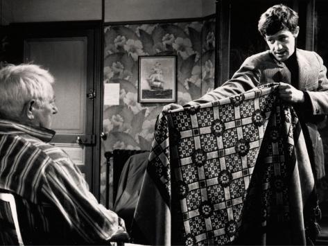 Jean Gabin et Jean-Paul Belmondo : Un singe en hiver, 1962 Reproduction photographique
