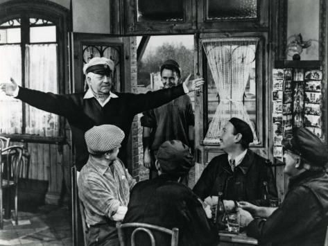 Jean Gabin : Le Baron de l'Ecluse, 1959 Reproduction photographique