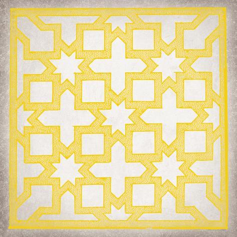Ancient Geometry III Reproduction procédé giclée