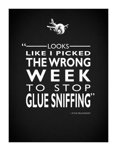Airplane - Glue Sniffing Reproduction procédé giclée