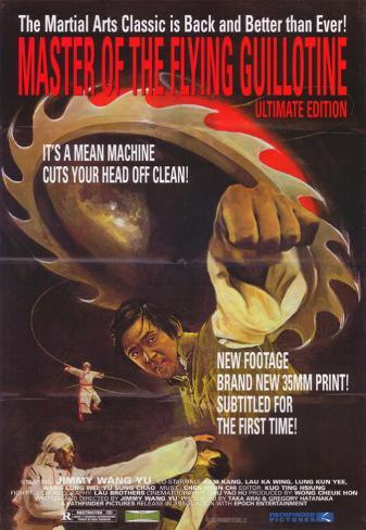 Master of the Flying Guillotine Affiche originale