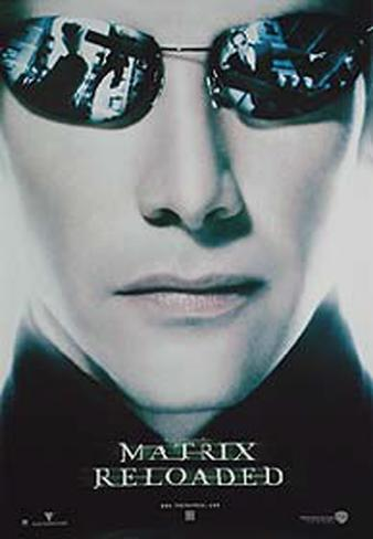 Matrix Reloaded - Neo Poster