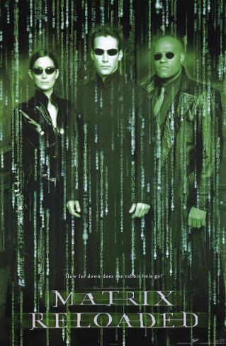 Matrix Reloaded - Neo Affiche originale
