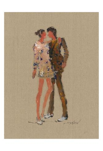 Dance The Nite Away 82484 Reproduction d'art