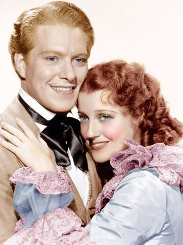 MAYTIME, from left: Nelson Eddy, Jeanette MacDonald, 1937 Photographie