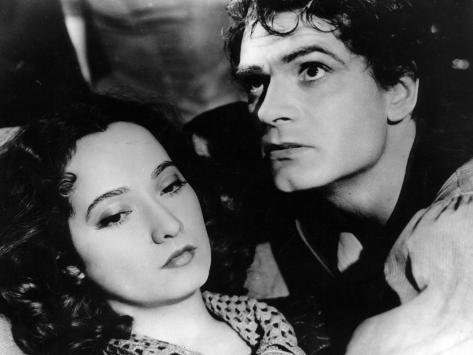 Merle Oberon et Laurence Olivier : Les Hauts de Hurlevent, 1939 Reproduction photographique