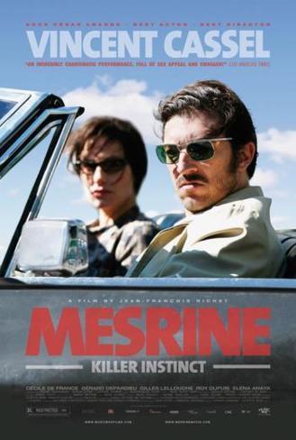 Mesrine : l'instinct de mort (affiche américaine) Poster