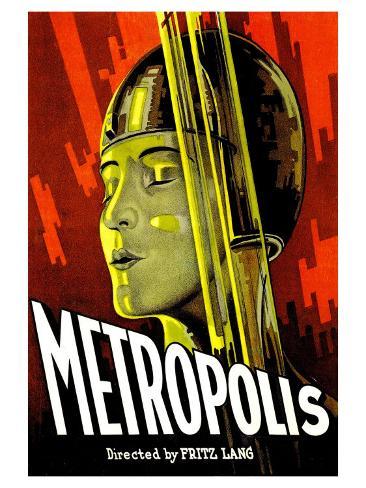 Metropolis, 1926 Reproduction d'art