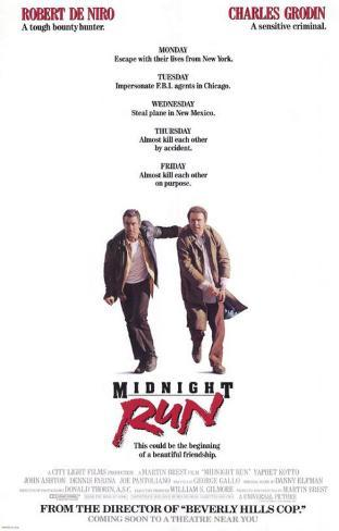 Midnight Run Affiche originale