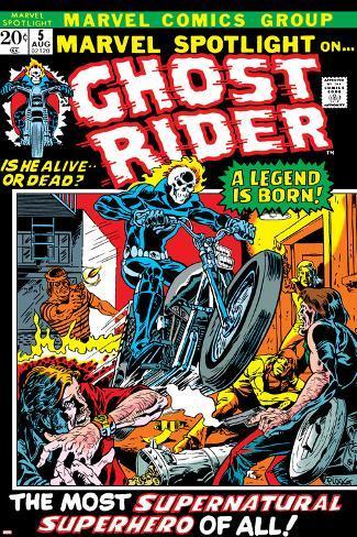 Marvel Spotlight No.5 Cover: Ghost Rider Poster