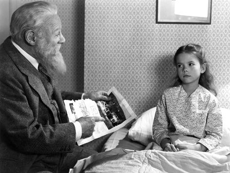 Miracle On 34Th Street, Edmund Gwenn, Natalie Wood, 1947 Photographie