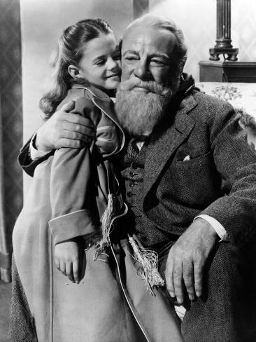 Miracle On 34Th Street, Natalie Wood, Edmund Gwenn, 1947 Photographie