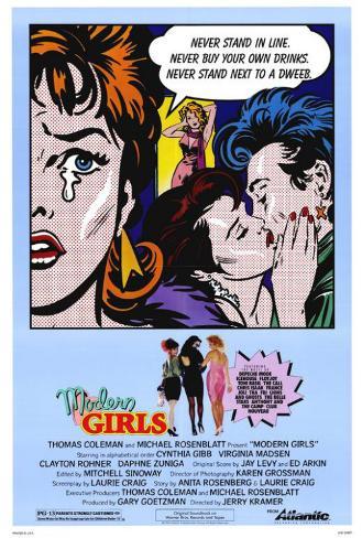 Modern Girls Poster