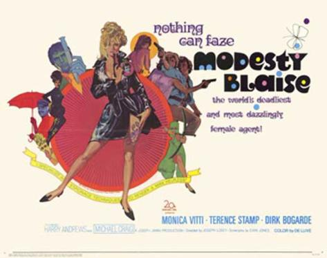 Modesty Blaise Affiche originale