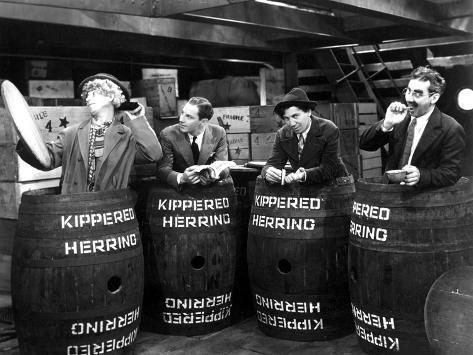 Monkey Business, Harpo Marx, Zeppo Marx, Chico Marx, Groucho Marx, 1931 Photographie