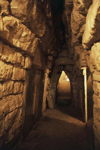 Montagnola Tomb Reproduction photographique