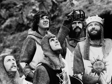 Monty Python and the Holy Grail, 1975 Photographie
