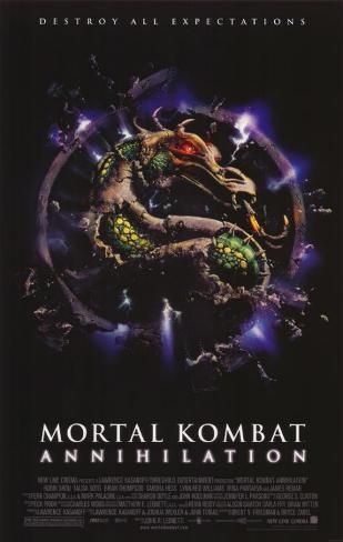 Mortal Kombat 2: Annihilation Affiche originale