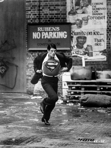 A scene from Superman Photographie