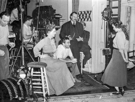 Behind the scenes of The Little Foxes. Photographie