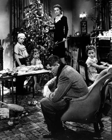 It's A Wonderful Life - Decorating a Christmas Tree Photographie