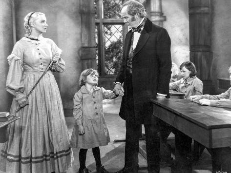 Jane Eyre Excerpt From the Movie in Black and White Photographie