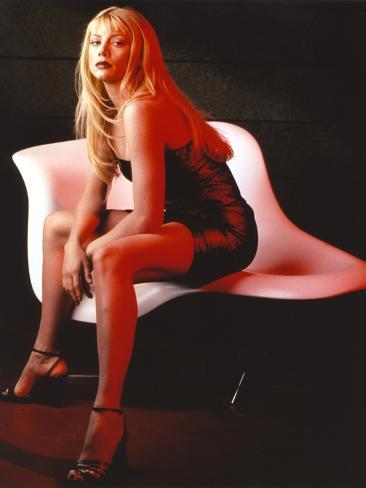 La Femme Nikita as Nikita in Black Mini Skirt Photographie