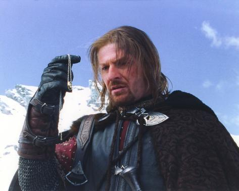 Sean Bean in Lord of the Rings Movie Photographie