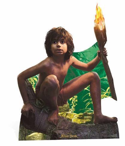 Mowgli - Live Action Jungle Book Silhouettes découpées en carton